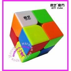 Кубик Рубика 2х2 цветной пластик QiYi Cave