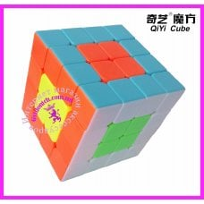 Кубик Рубик 4x4 из цветного пластика QiYi