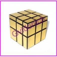 Зеркальный кубик Рубика Золотой ShengShou