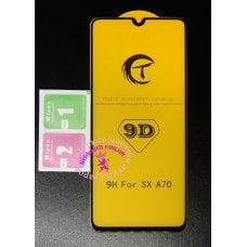 Защитное стекло 9D для телефона Samsung A70
